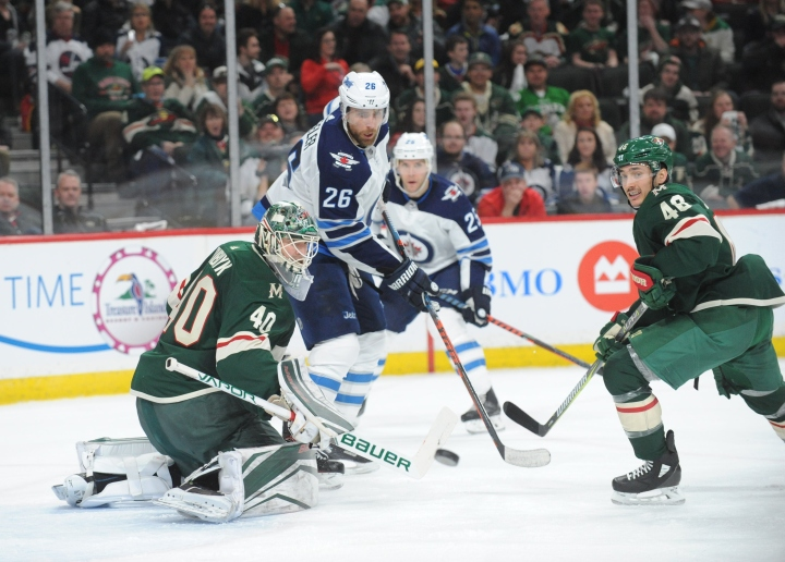 NHL: Stanley Cup Playoffs-Winnipeg Jets at Minnesota Wild