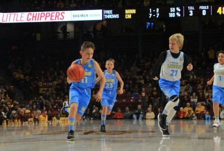 Lakers at Williams Arena